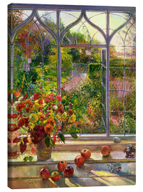 Canvas  Overlooking the autumn - Timothy Easton
