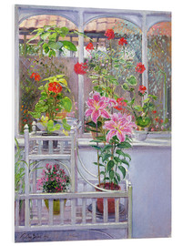 Foam board print  In the winter garden - Timothy Easton