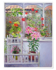 Premium poster  In the winter garden - Timothy Easton