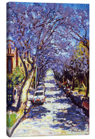 Canvas print  North Sydney Jacaranda - Ted Blackall