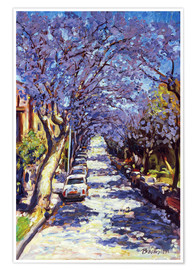 Ted Blackall - North Sydney Jacaranda
