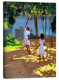 Canvas  Reaching for Oranges, Bentota - Andrew Macara