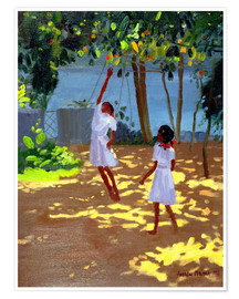 Premium poster  Reaching for Oranges, Bentota - Andrew Macara