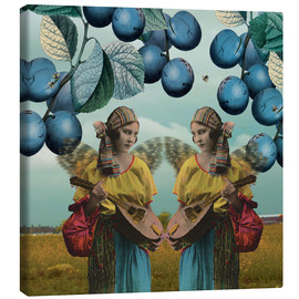 Canvas print  You and me, 2014, - Olga Snell