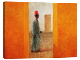Canvas print  Man, Tangier Road - Lincoln Seligman
