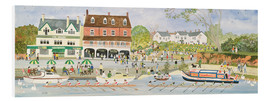 Foam board print  The towpath Walton-on-Thames - Judy Joel