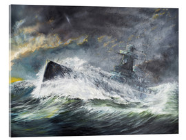Acrylic glass  Graf Spee enters the Indian Ocean 3rd November 1939 - Vincent Alexander Booth