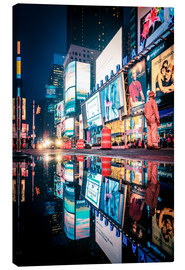 Canvas  Broadway, Times Square by night - Sascha Kilmer