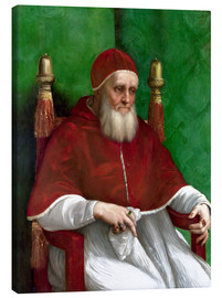 Canvas  Pope Julius II - Raffael