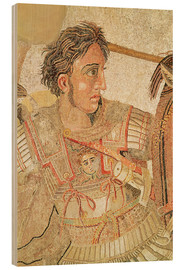 Wood  Alexander the Great - Roman