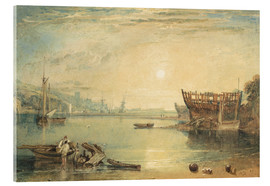 Acrylic print  Teignmouth, Devonshire - Joseph Mallord William Turner