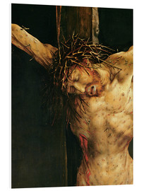 Forex  Christ on the Cross, detail from the central Crucifixion panel of the Isenheim Altarpiece, c.1512-15 - Matthias Grünewald