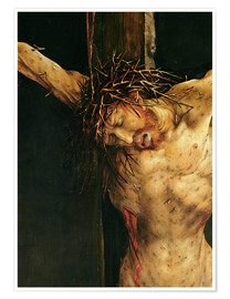 Premium poster Christ on the cross, detail