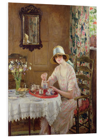 Foam board print  Afternoon tea - William Henry Margetson