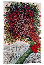 Acrylic print  The Red Tree - Seraphine Louis