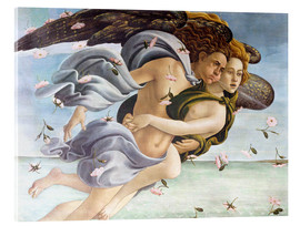 Acrylic print  Birth of Venus, Angels - Sandro Botticelli