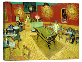 Canvas  Night Cafe in Arles - Vincent van Gogh