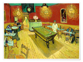 Poster  Night Cafe in Arles - Vincent van Gogh