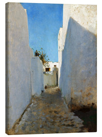 Canvas print  A Moroccan Street Scene - John Singer Sargent