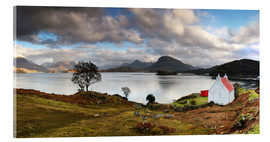 Acrylic print  Upper Loch Trridon, Scotland - Martina Cross