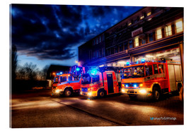 Acrylic print  German fire trucks - Markus Will