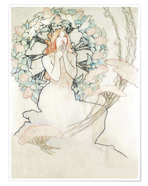Alfons Mucha - Study for monte carlo