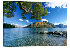Canvas print  Queenstown New Zealand - Thomas Hagenau