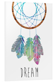 Foam board print  Dreamcatcher - GreenNest