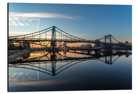 Aluminium print  Sunrise at Kaiser-Wilhelm-Bridge - Stephan Giesers