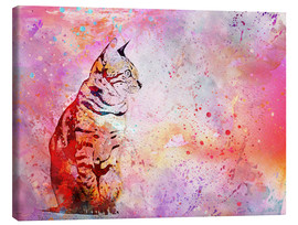 Canvas print  Cat - Andrea Haase