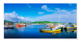 Premium poster  Dingle Harbour, Ireland - The Irish Image Collection