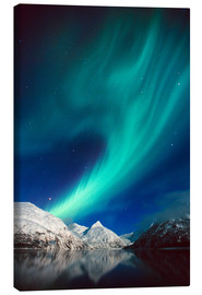 Canvas print  Northern Lights on Portage Lake - Daryl Pederson