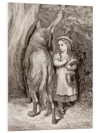 Forex  Scene From Little Red Riding Hood By Charles Perrault - Gustave Doré