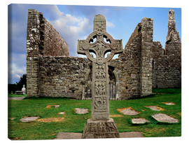 Canvas print  Clonmacnoise in Ireland - The Irish Image Collection