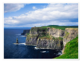 Premium poster  Cliffs of Moher - The Irish Image Collection