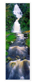 Premium poster Assaranca Waterfall