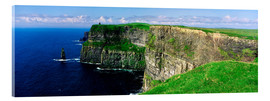 Acrylic print  Cliffs of Moher - The Irish Image Collection