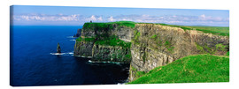 Canvas  Cliffs of Moher - The Irish Image Collection