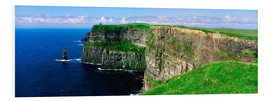 Foam board print  Cliffs of Moher - The Irish Image Collection