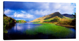 Canvas  Kylemore Lake - The Irish Image Collection