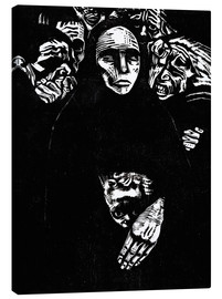Canvas  The people (the war) - Käthe Kollwitz