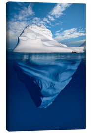Canvas print  Iceberg in the Canadian Arctic - Richard Wear
