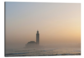 Aluminium print  Mosque of Casablanca - Ian Cuming