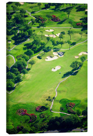 Canvas print  Golf course - Ron Dahlquist