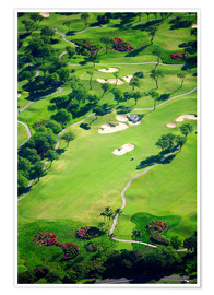 Premium poster  Golf course - Ron Dahlquist