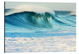 Aluminium print  Waves in Hawaii - Vince Cavataio