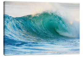 Canvas print  Shining wave - Vince Cavataio
