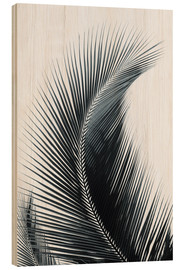 Wood print  Palm fronds - Larry Dale Gordon