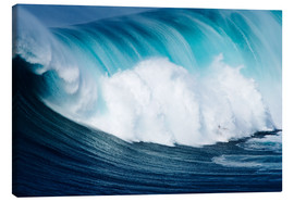 Canvas print  Surfs ago Maui - Ron Dahlquist