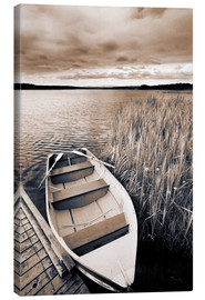Canvas  Boat in Lake Burntstick - Darwin Wiggett